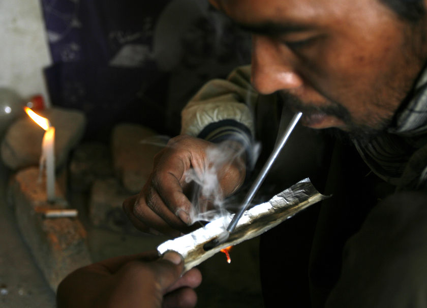 ... drug addicts, according to a report from the UN