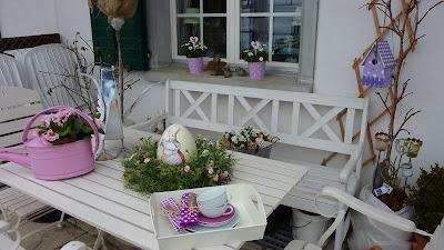 bluemli garten verlosung neuer blog osterdekoration neue vintage blumenstecker. Black Bedroom Furniture Sets. Home Design Ideas