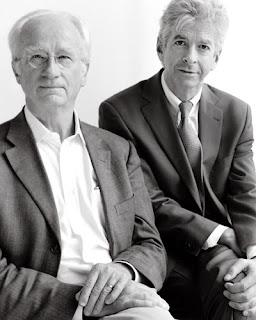Links professor piet borst rechts minister plasterk
