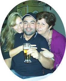Eu, meu irmão Carlos,minha irmã Ana...