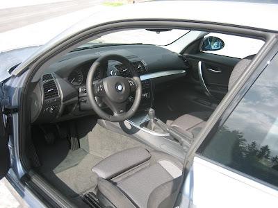 2008 bmw 118i interior Cloth with silver inlays