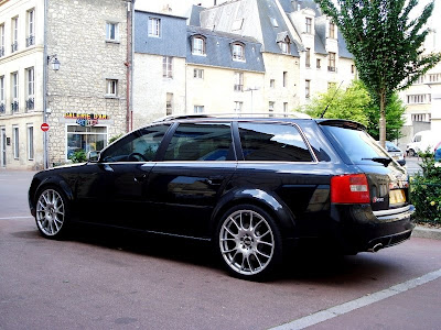 Audi Audi Rs6 C5 Wagon With 20 Inch Bbs Rims