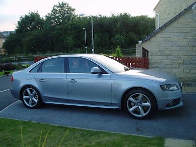 Audi A4 S Line. Monza Silver audi a4 b8 s line