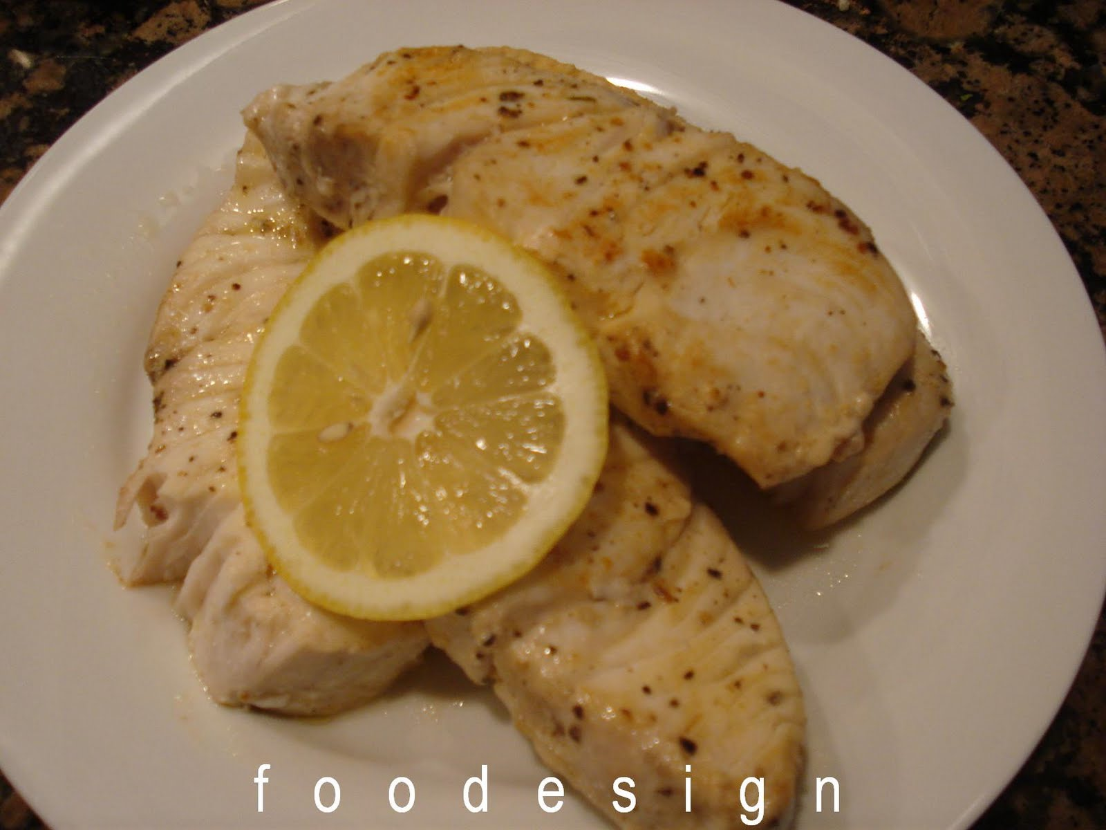 Foodesign amberjack fillets for Amberjack fish recipes