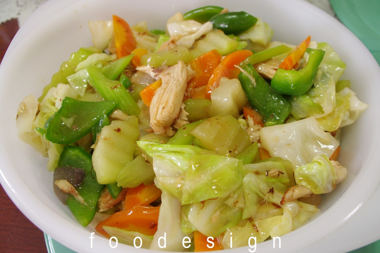 ... of fresh vegetables in this chinese vegetable dish called chop suey