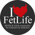 Estou no FetLife!