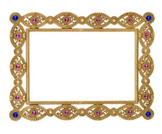 Craft Central Exquisite Jeweled Photo Frames