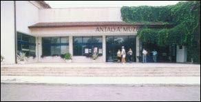 antlyamuseum Antalya Tarihi Yerler