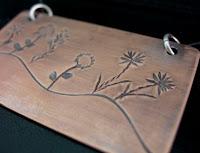 stamping pendant, tutorial