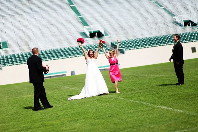 Wedding Planning Fun College Football Inspired Wedding Ideas