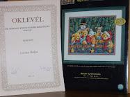 Díjazott lettem/award! :)