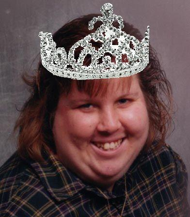 fat girl tiara