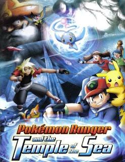 Pokémon 9: Pokémon Ranger e o Lendário Templo do Mar