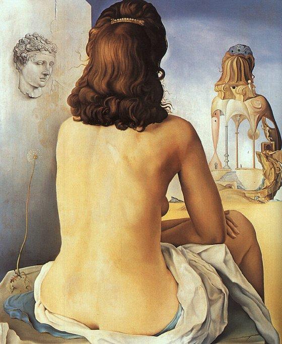 Mi esposa desnuda (Salvador Dalí - 1945)