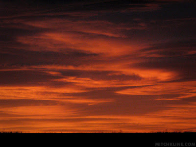 Sunrise, Nov 19, 2010, Photo by Mitch Kline, www.mitchkline.com