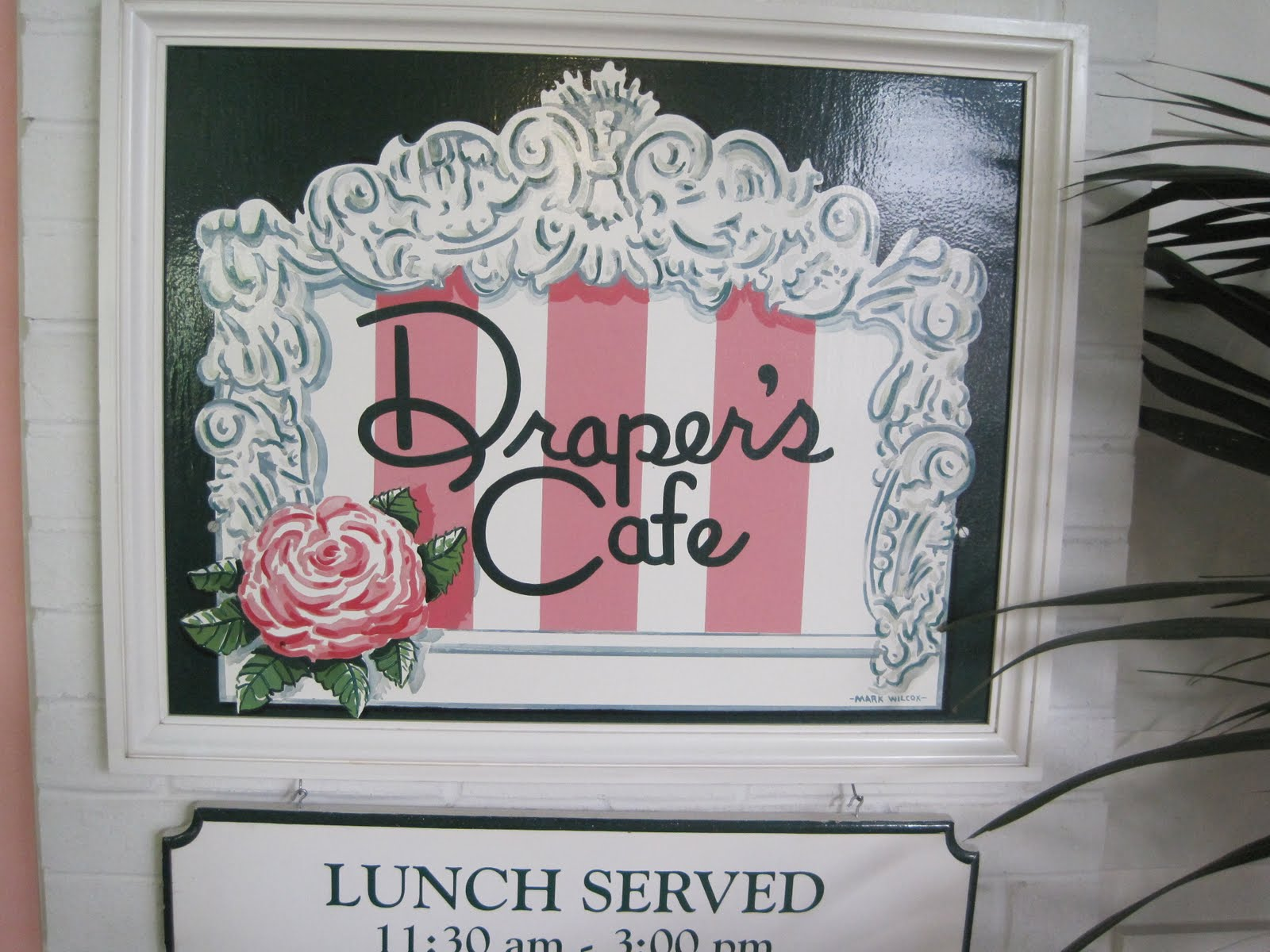 I loved Draper's Cafe.