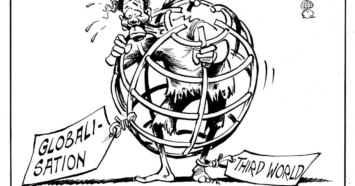 globalization cartoon analysis