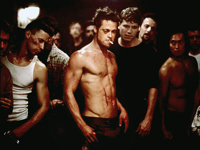brad pitt fight club body. hotter body than Brad Pitt