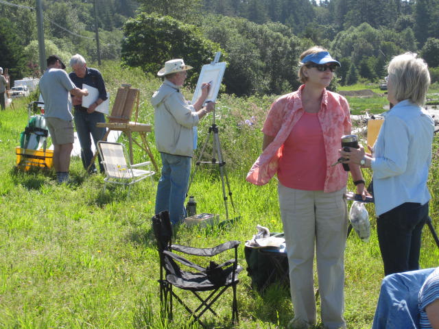 Saturday Plein Air Group 2010