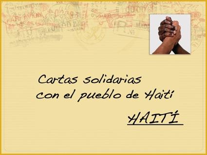 SOLIDARIDAD CON HAITÍ