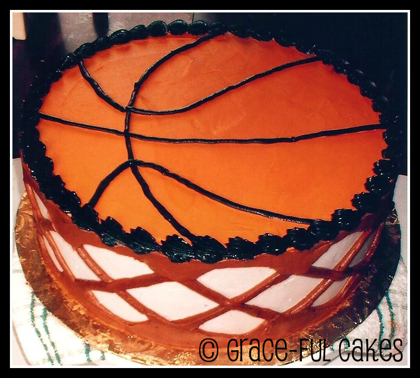 Basketball and Hoop Cake Cakes and Cupcakes for Kids birthday