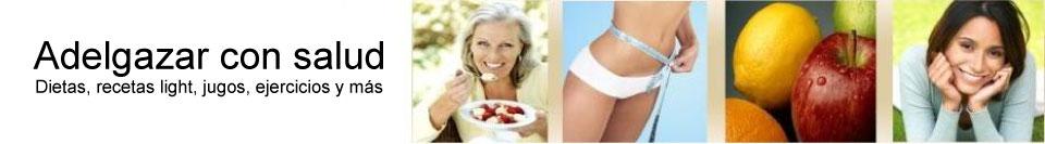 Adelgazar con salud