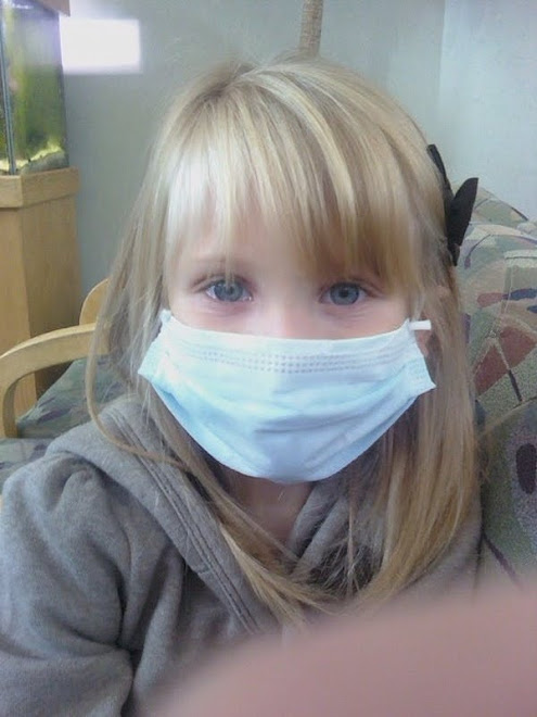 "One of the many ""masked"" Dr visits we had to take"