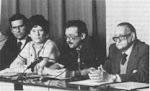 Mario Bendedetti,Aide Santamaria y Alejo Carpentier