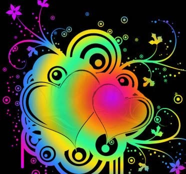 July 2012 Colorful Background Wallpapers