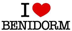 I LOVE BENIDORM.