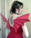 FINISHED PROJECT: DETACHABLE DEVIL WINGS