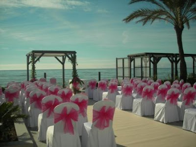 Fuschia Pink Winter Wedding at Los Monteros