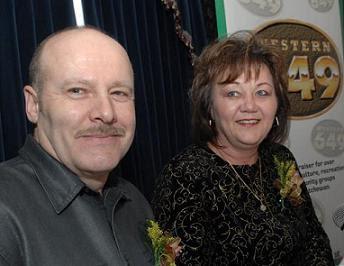 Western 649 Lottery Winners Wayne and Pat Kozak