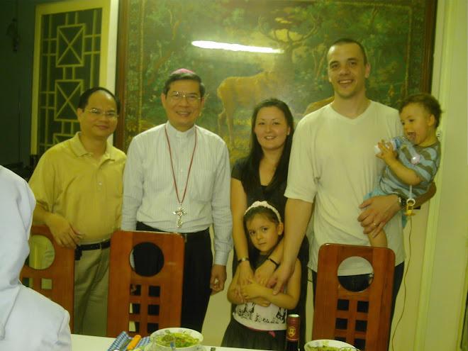 Merci pour ce dîner, Monseigneur Giuse Dang Duc Ngan