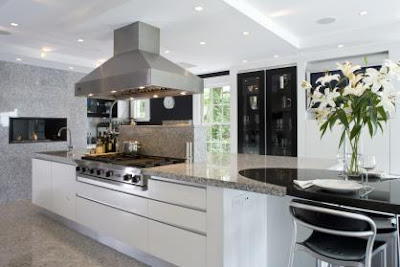 Grey White Granite