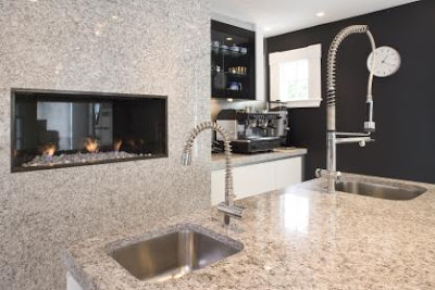 Home Kitchen Design on Home Design   White And Grey Kitchen