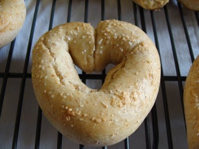 soft pretzels- heart