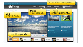 Yahoo video e il nuovo player