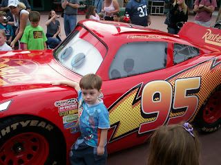 Disneyworld Orlando MGM Studios Alberto and Cars McQueen real!