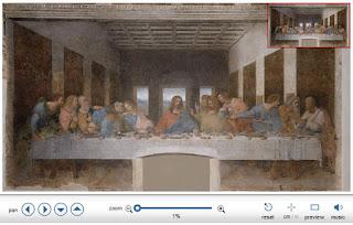 Immagine in alta definizione dell'ultima cena di Leonardo Da Vinci
