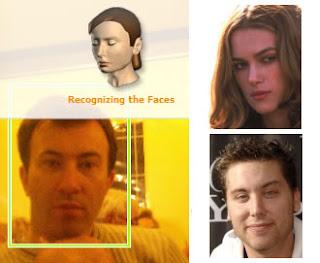 software di riconoscimento facciale per sapere a chi assomigli di più, attore, attrice o cantante