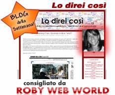Blog della settimana è Lo direi Così di Roberta Collina