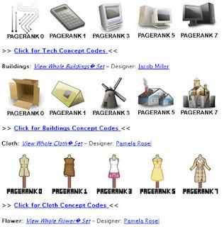 visualizzazioni alternative del pagerank di google per un sito internet