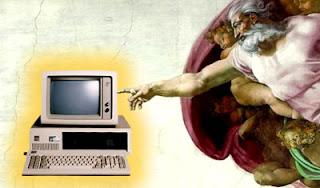 la storia di Dio e il PC