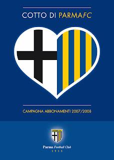 la campagna di comunicazione della squadra di calcio del Parma. Cotto di Parma