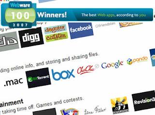 le migliori 100 applicazioni e servizi web per il 2007
