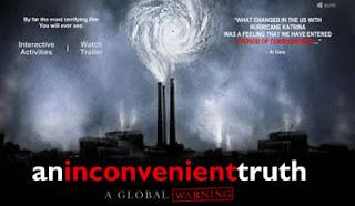 An Inconvenient Truth, Una scomoda verità di Al Gore. Il film documentario sul problema del riscaldamento della terra e della lotta all'inquinamento