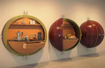 idee e soluzioni di arredamento per cucina compatta