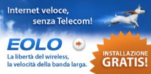 CLICCA QUI E ORDINA LA NUOVA CONNESSIONE WIRELESS PER INTERNET VELOCE SENZA TELECOM
