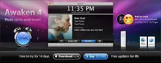 Awaken il software per il tuo MAC con cui addormentarti o svegliarti la mattina, ascoltando la tua musica digitale preferita